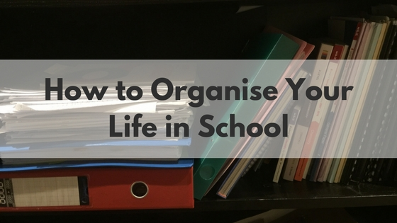 How to Organise Your Life in School and Never Lose your GC Charger again using this OnePrinciple